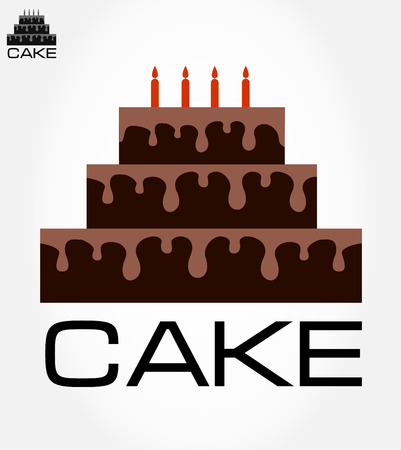 Cake symbol  Vector