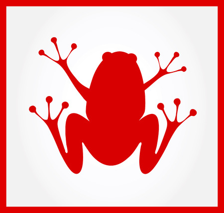 croaking: Frog Illustration