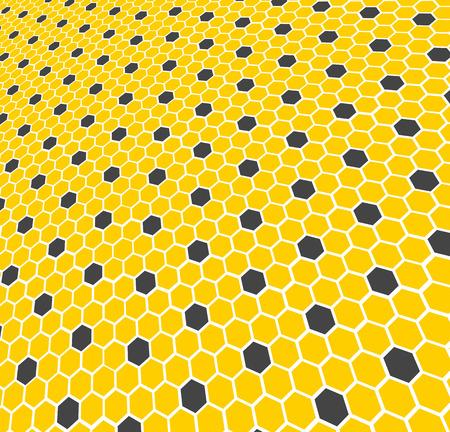 Honeycomb - texture  background  Vector