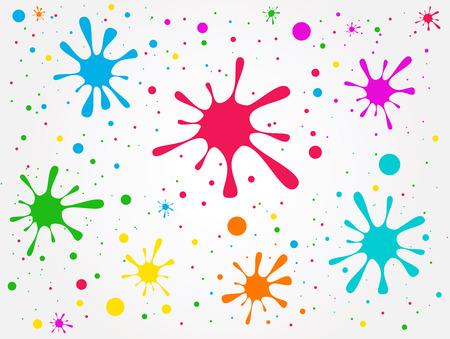 abstrakce: Ilustrace abstrakce skvrny Grunge Ilustrace