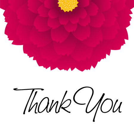 감사합니다 - 색깔의 꽃