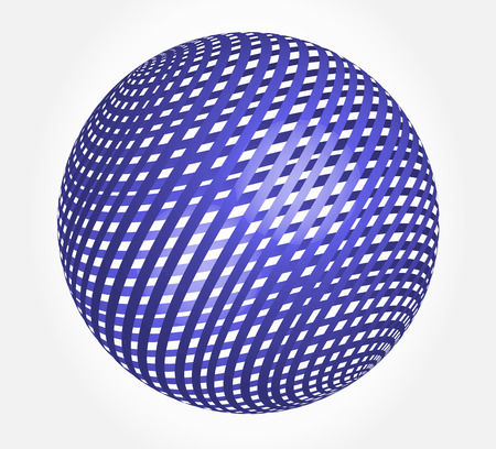eps picture: abstract globe - sphere vector