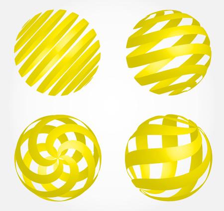 abstract globe - sphere vector Zdjęcie Seryjne - 29068880