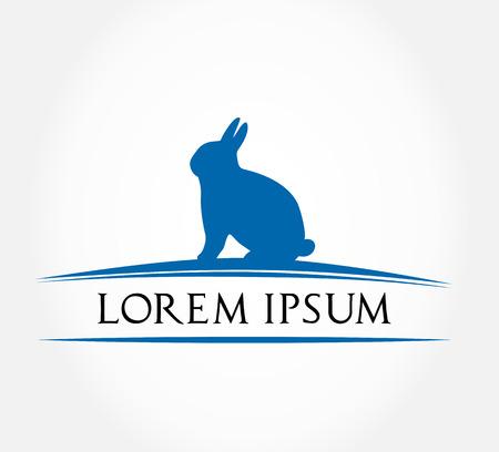 hare symbol  rabbit vector illustration   Vector