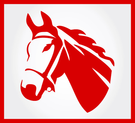 Horse symbol  Vector illustration  Vector
