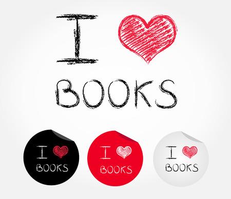 I love book Zdjęcie Seryjne - 29018765
