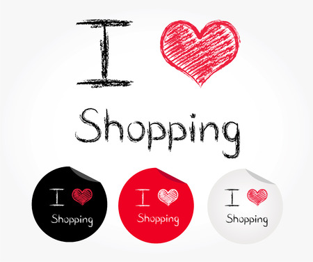 admiration: I love shopping