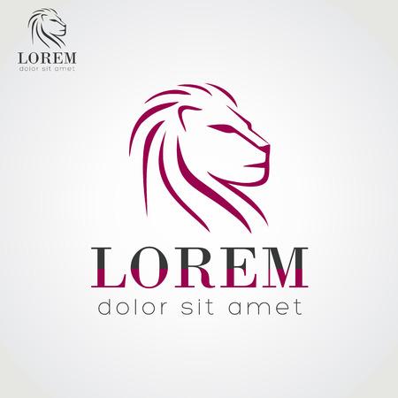 lions: Lion vector icon Illustration