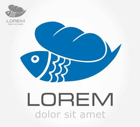 Loaves And Fish symbol  Vector illustration  Vector