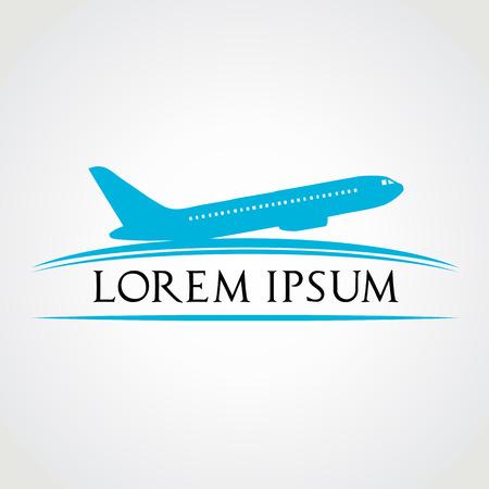 airplane symbol  vector illustration