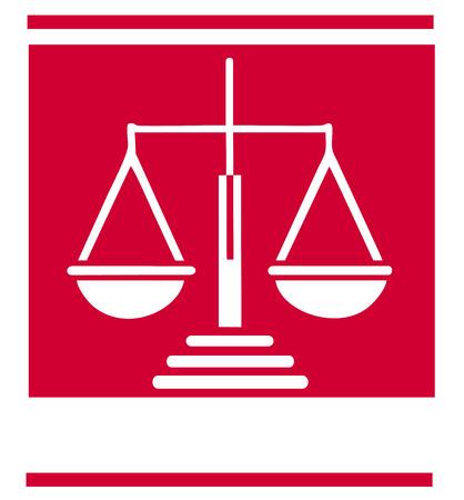 fairness: Scale of justice symbol