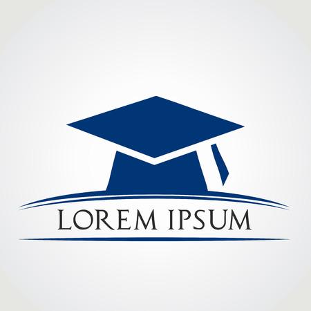 Trencher cap  Graduation Cap symbol Illustration
