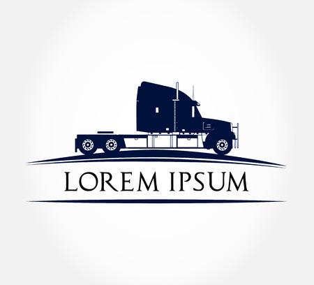 trailer: Truck vector illustration