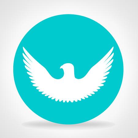 wings bird: Bird symbol