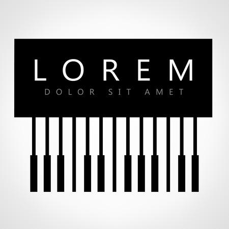 teclado de piano: piano clave