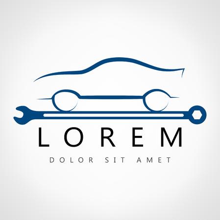 car symbol  Ilustracja