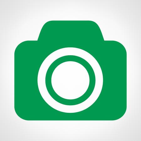 Camera symbol vector illustration Vector