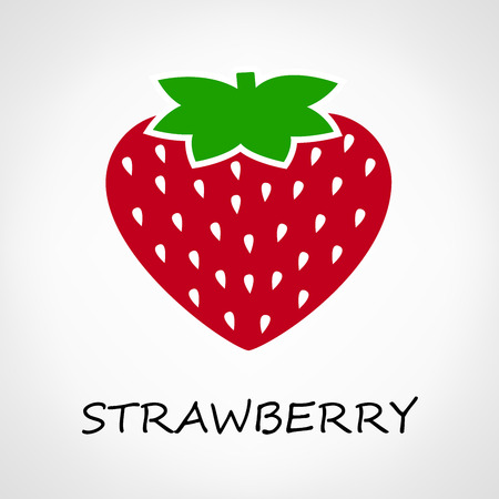strawberry vector Ilustracja