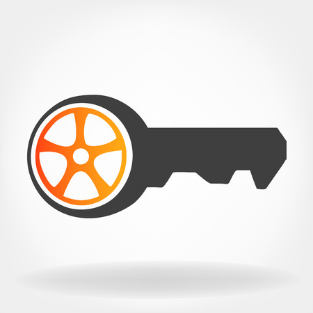 Car key Illustration