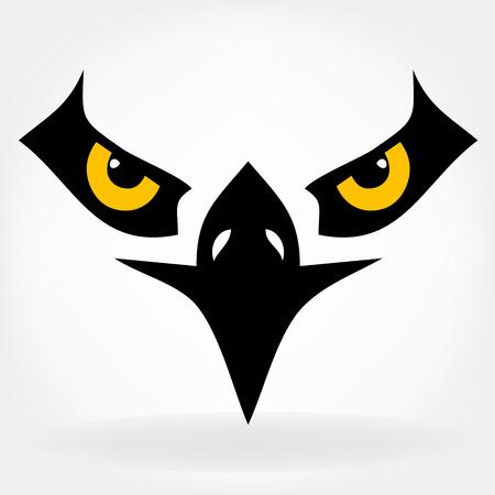 37 936 hawk stock vector illustration and royalty free hawk clipart rh 123rf com Hawk Silhouette Clip Art Hawk Logo