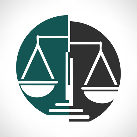 justice scale: Scale of justice