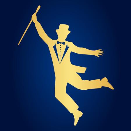 the showman: showman silhouette