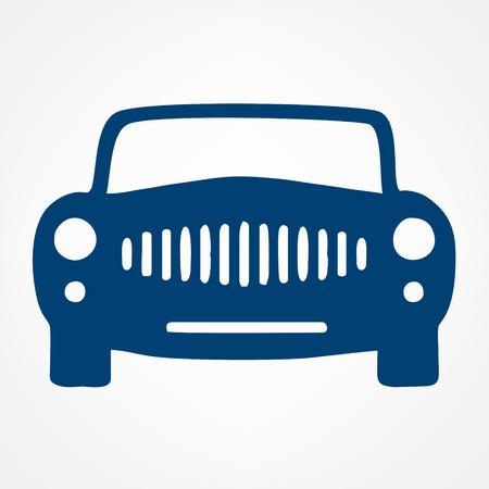 Car symbol. Vector illustration.