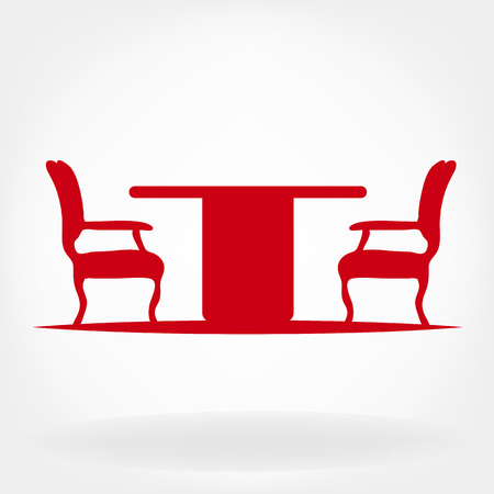 patio set: Furniture Illustration