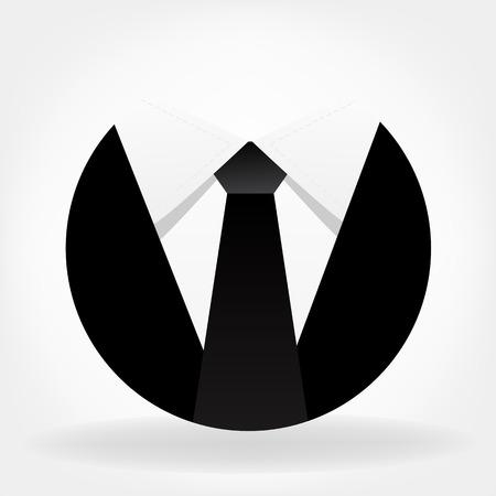 corporate people: Business Tie vector