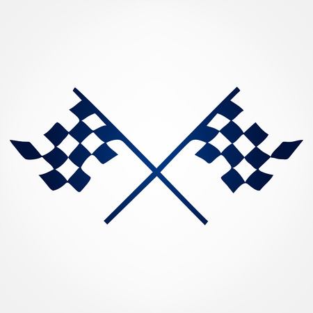 race flag: Race Flag symbol vector Illustration
