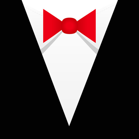Business . Bow tie vector