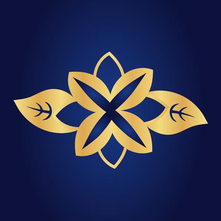 temperate: Flowers vector symbol Illustration