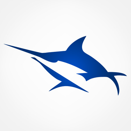 vector de Marlin Ilustración de vector