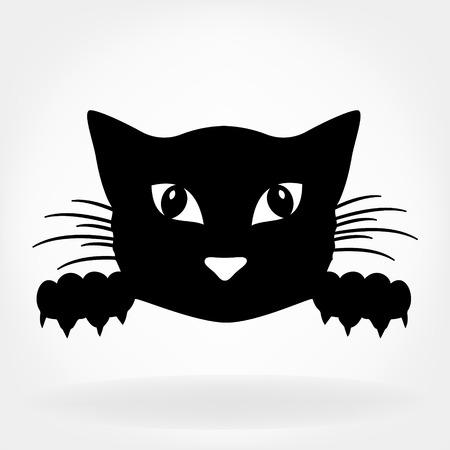 head icon: Cat illustration