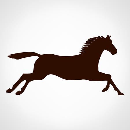 dobbin: Horse  . Vector illustration. Illustration