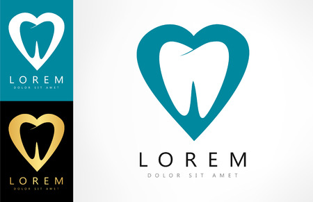 preening: tooth  . vector illustration. Illustration