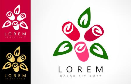 roses vector logo Logo