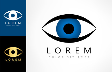 logo: eye logo Illustration