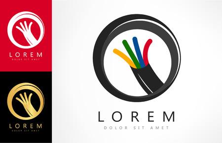 Kabel, Drähte, Kabel logo