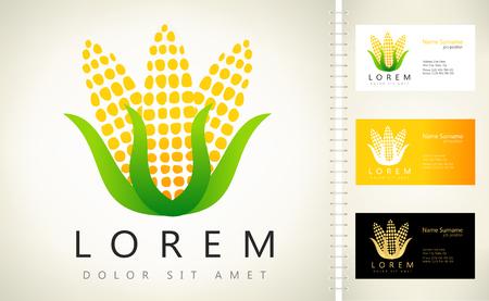 Logotipo de maíz Foto de archivo - 67576736