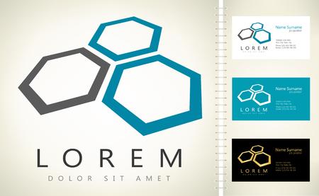 honeycomb logo vector