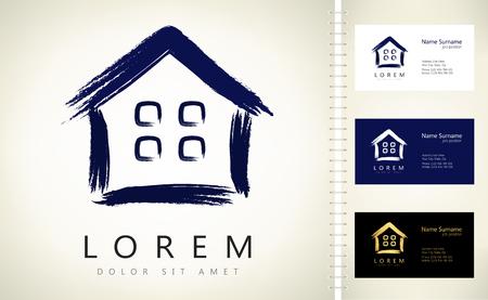 house logo: house logo vector