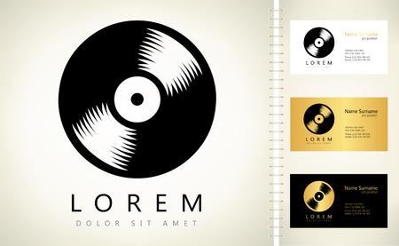 vinyl record: vinyl record logo