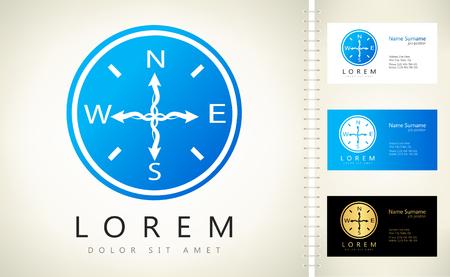 compass logo Ilustracja