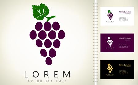 Grape vector symbol