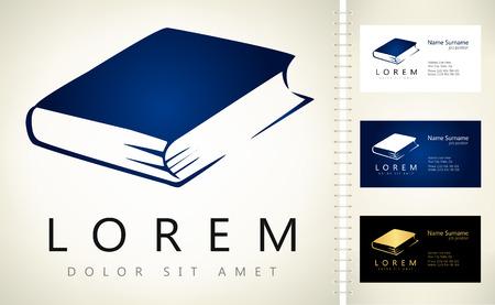 book logo Ilustracja