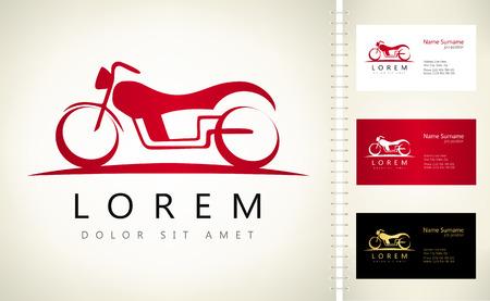 Motorcycle vector. Bike symbol. Ilustracja