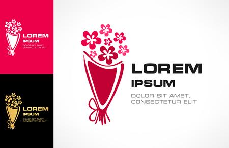 Bouquet of flowers logo