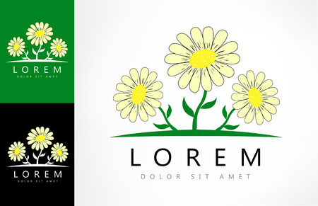 Bouquet of daisies logo