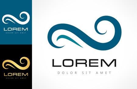 wave logo Ilustracja